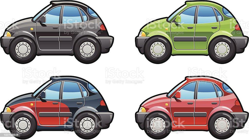 Fastback. vector art illustration