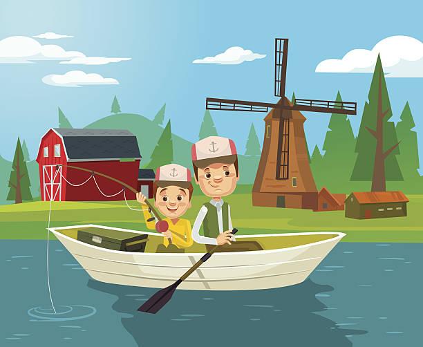 Fisherwoman Clip Art, Vector Images & Illustrations - iStock