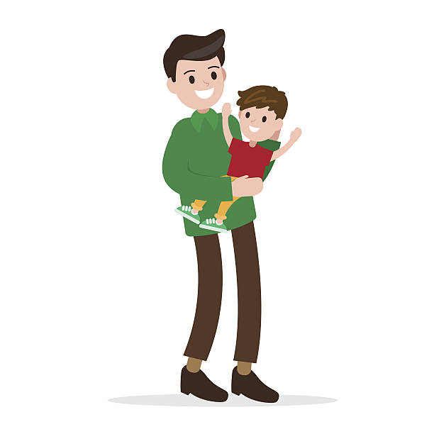 Single Father Clip Art, Vector Images & Illustrations - iStock