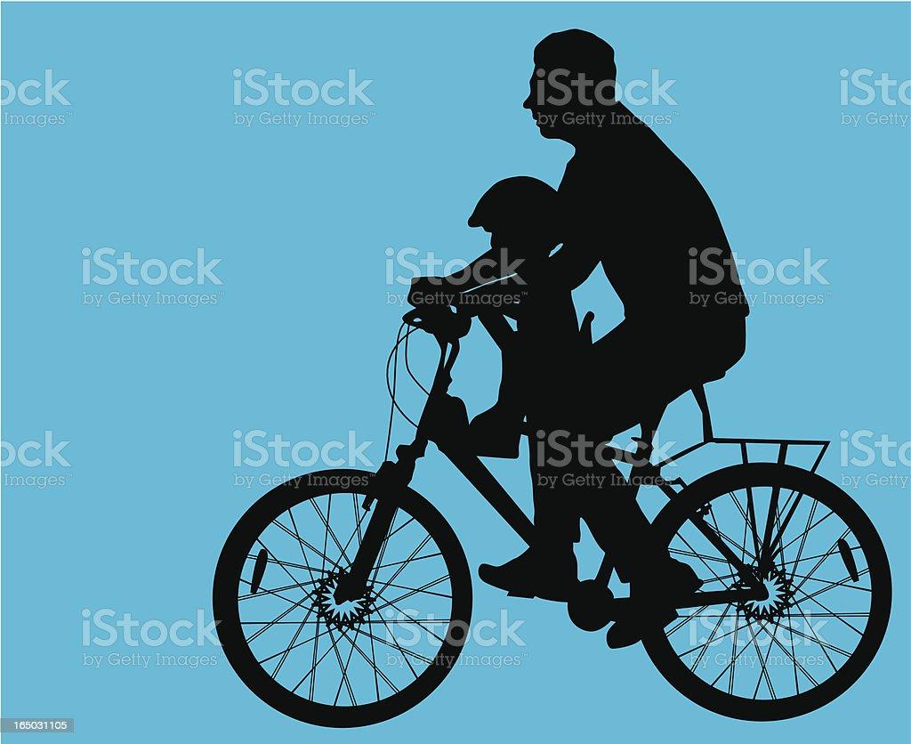 Fatherhood  ( Vector ) vector art illustration