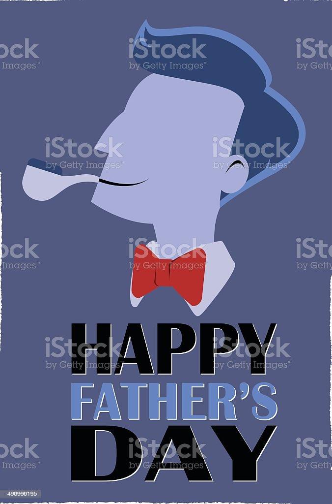 Fête des pères stock vecteur libres de droits libre de droits