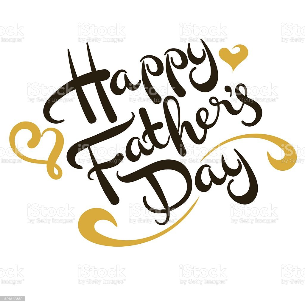 fathers day vector vector art illustration