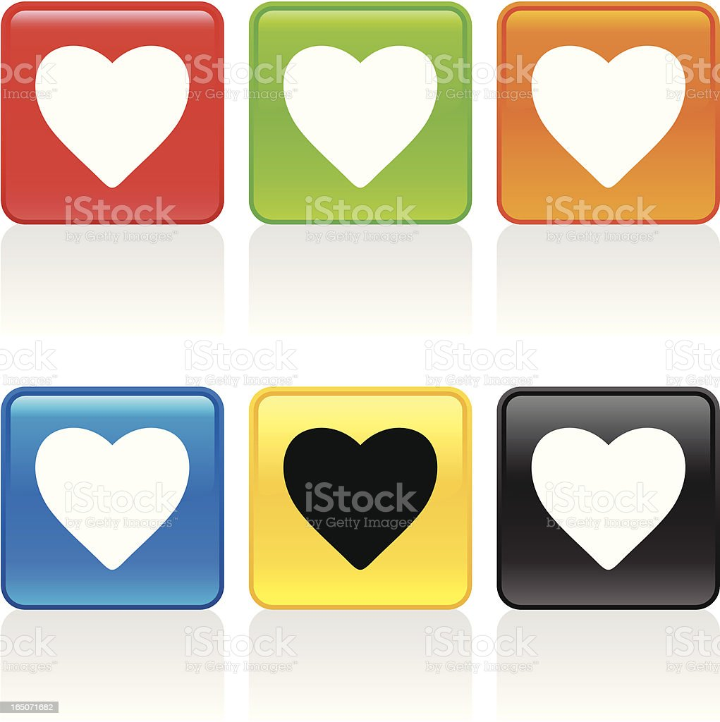 Favorite Icon royalty-free stock vector art
