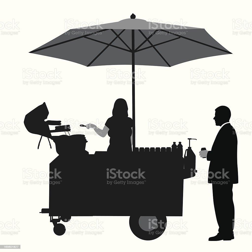Favorites Vector Silhouette vector art illustration