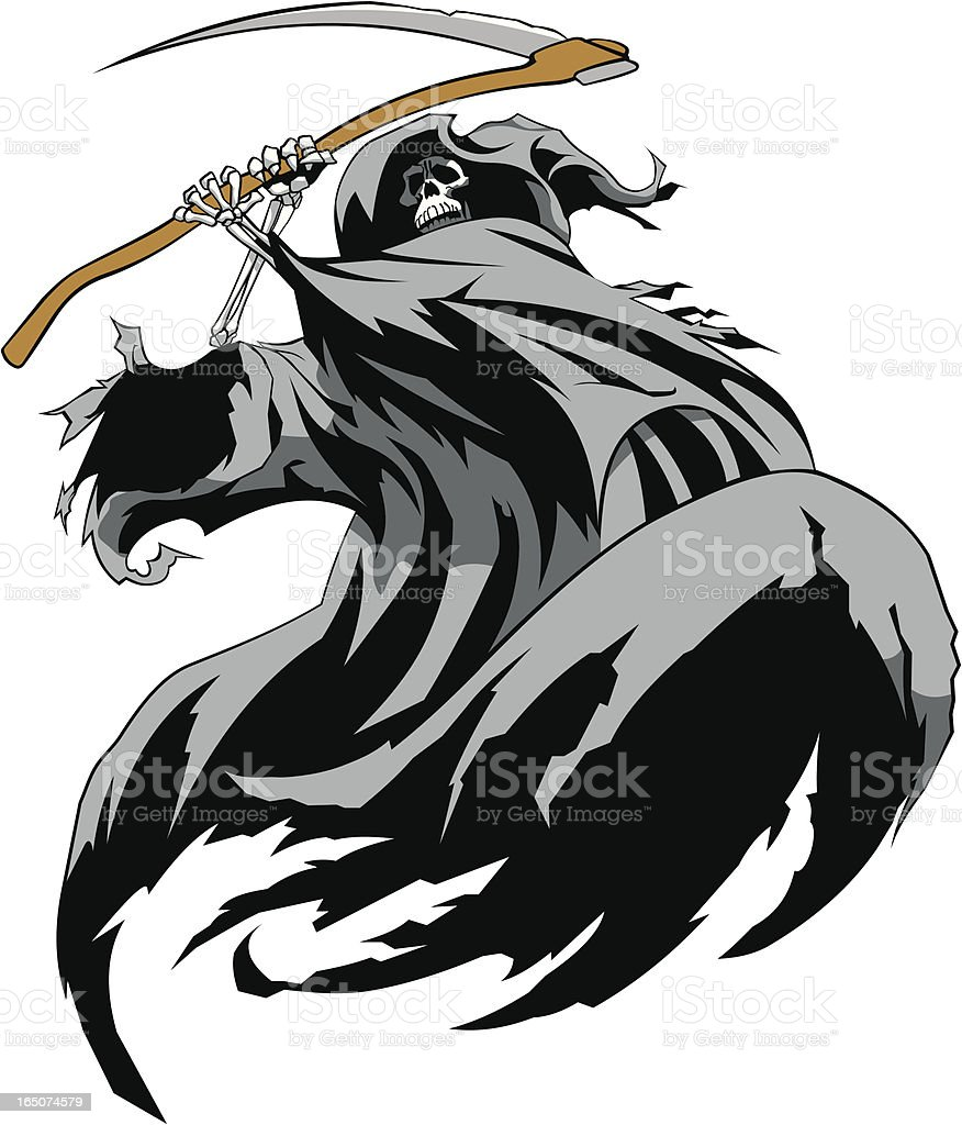 Fear the Reaper royalty-free stock vector art