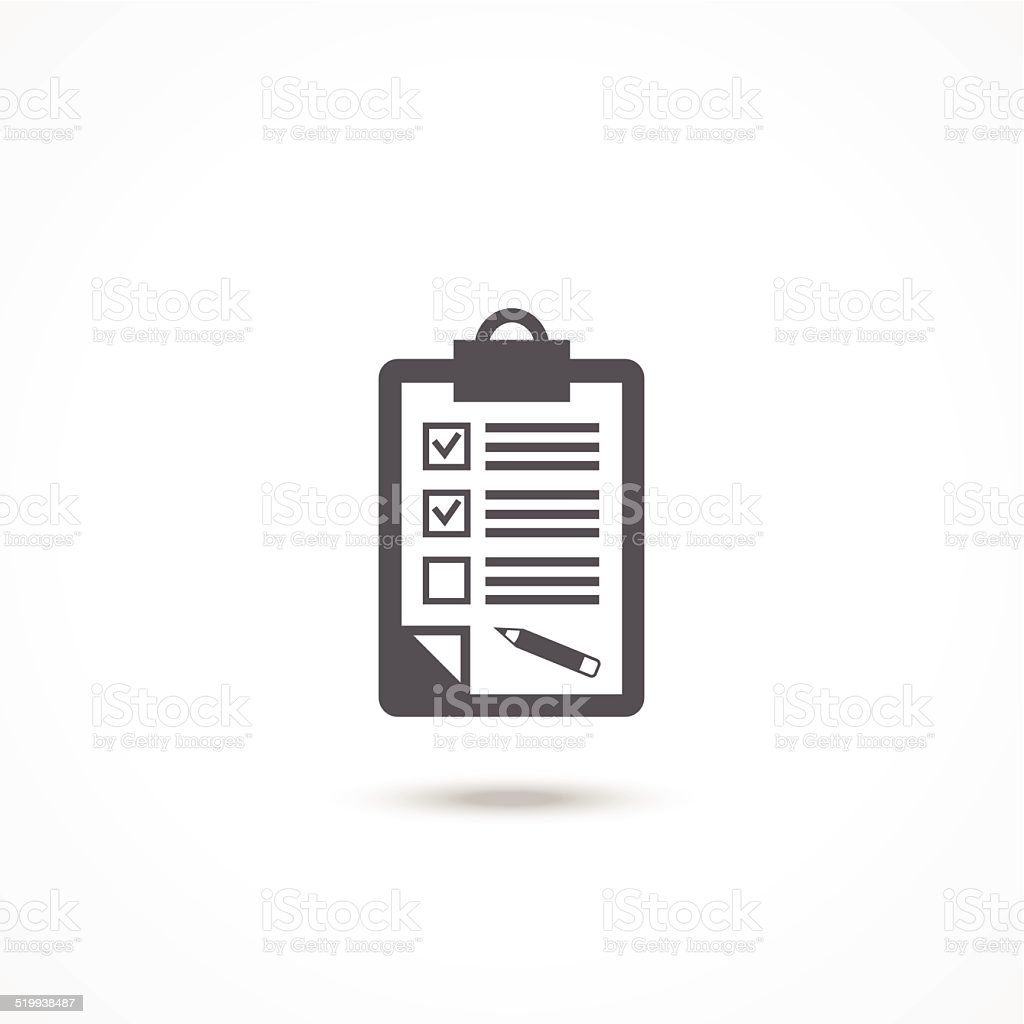 Feedback icon vector art illustration