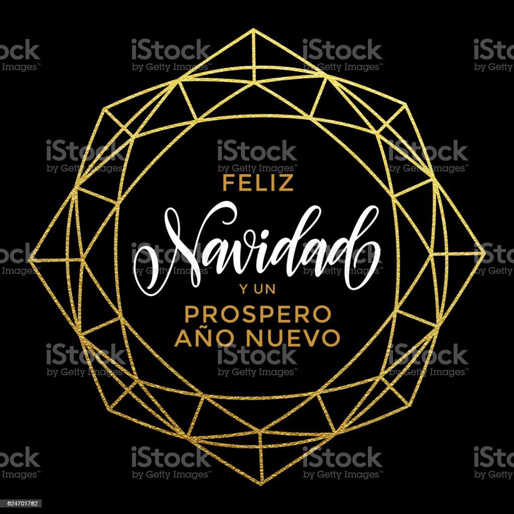 Feliz navidad spanish christmas greeting card ornament stock vector feliz navidad spanish christmas greeting card ornament royalty free stock vector art m4hsunfo
