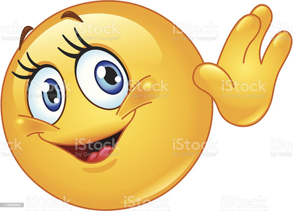 Image result for waving hi cartoon