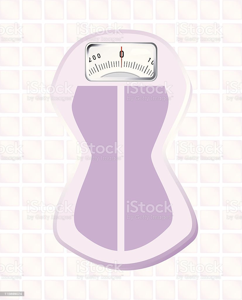 female scale royalty-free stock vector art