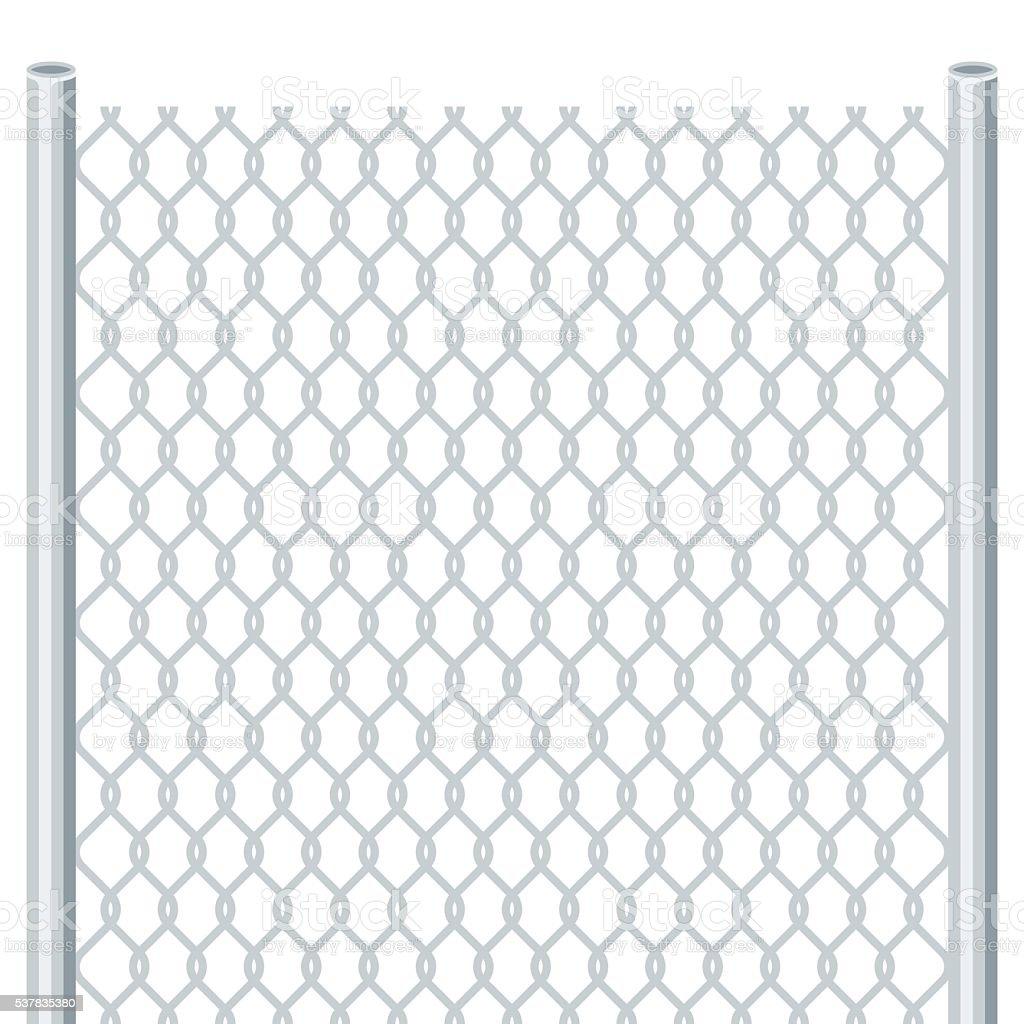 Fence vector art illustration