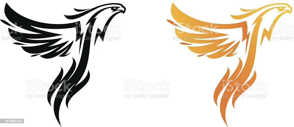 Fenix royalty-free stock vector art