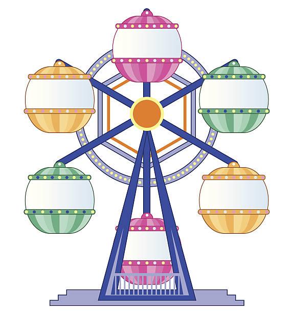 Theme Park Line插圖和矢量圖形 Istock