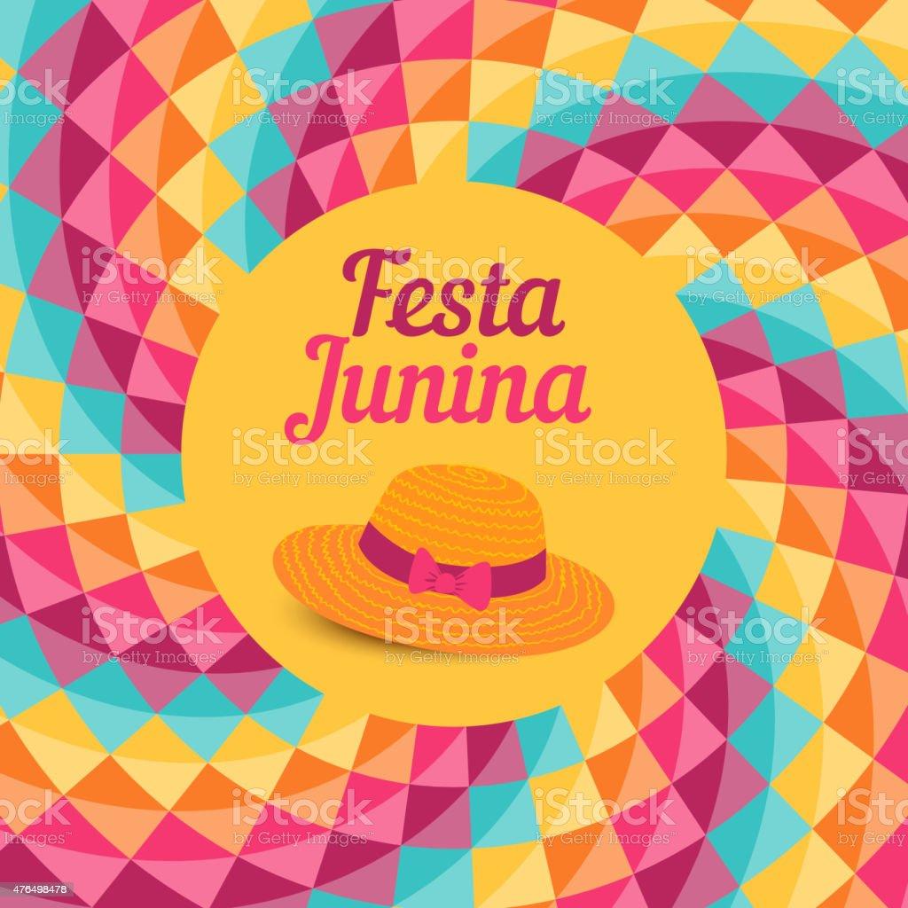 Festa Junina illustration - Brazil june festival vector art illustration