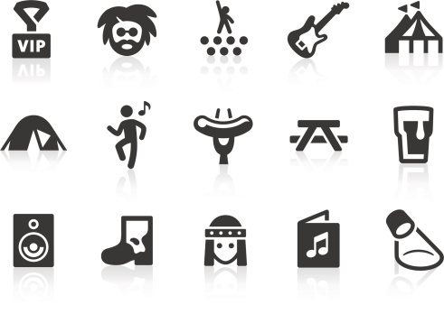 Hippie Icon Clip Art Vector Images Illustrations Istock