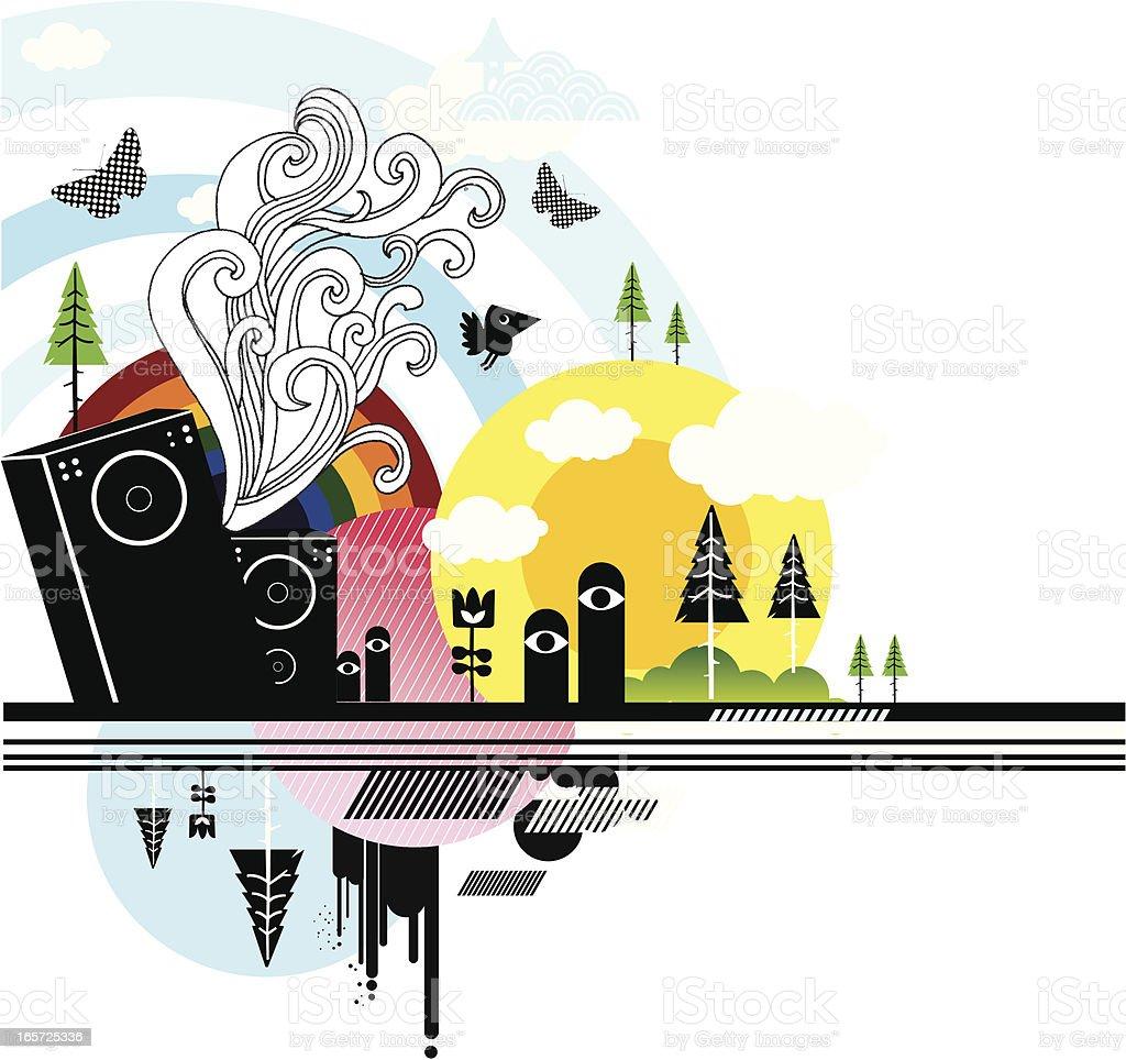 Festival illustration royalty-free stock vector art