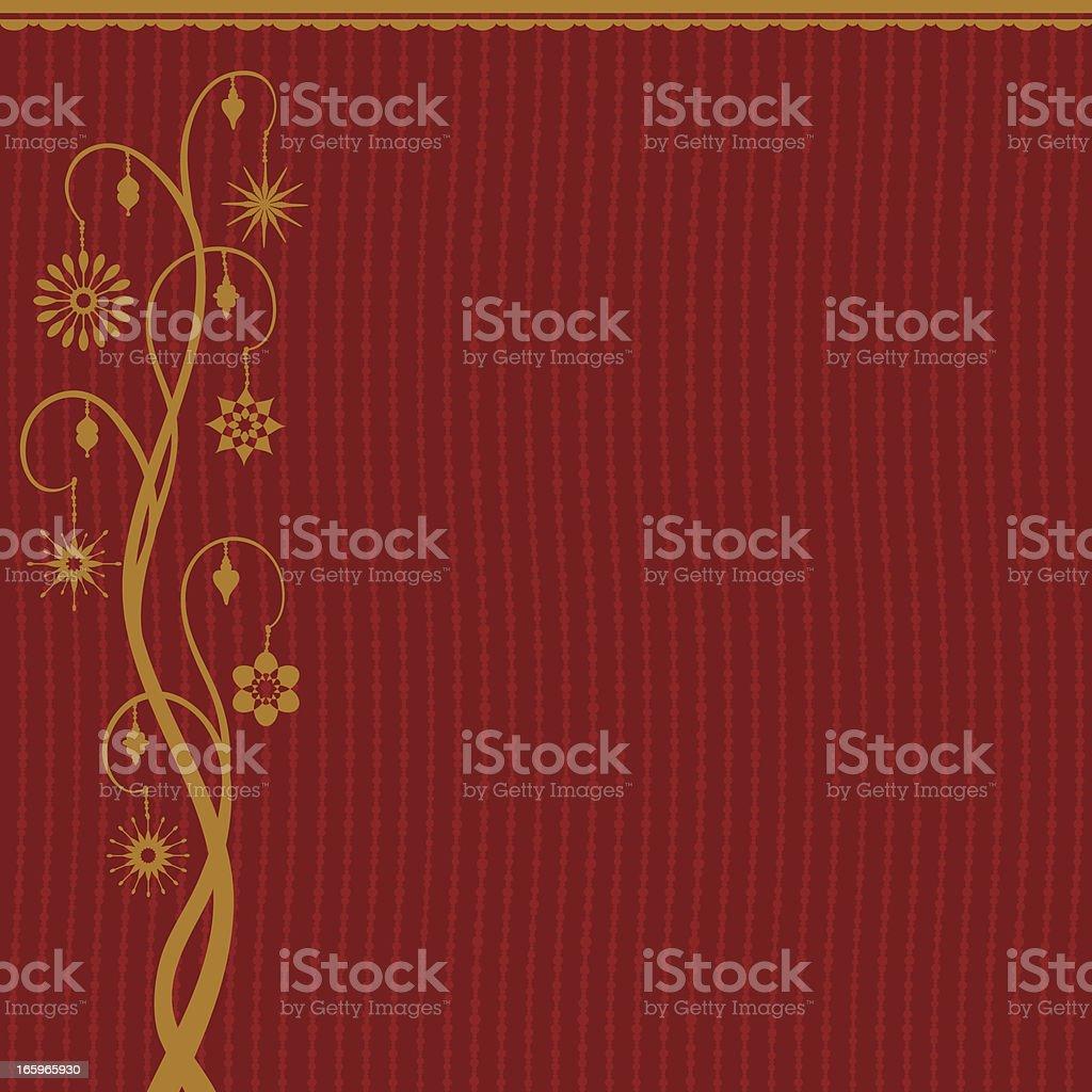 Festive Background Tree royalty-free stock vector art