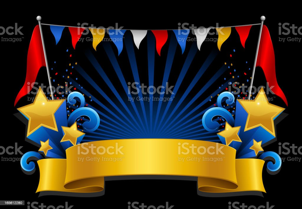 Festive banner royalty-free stock vector art