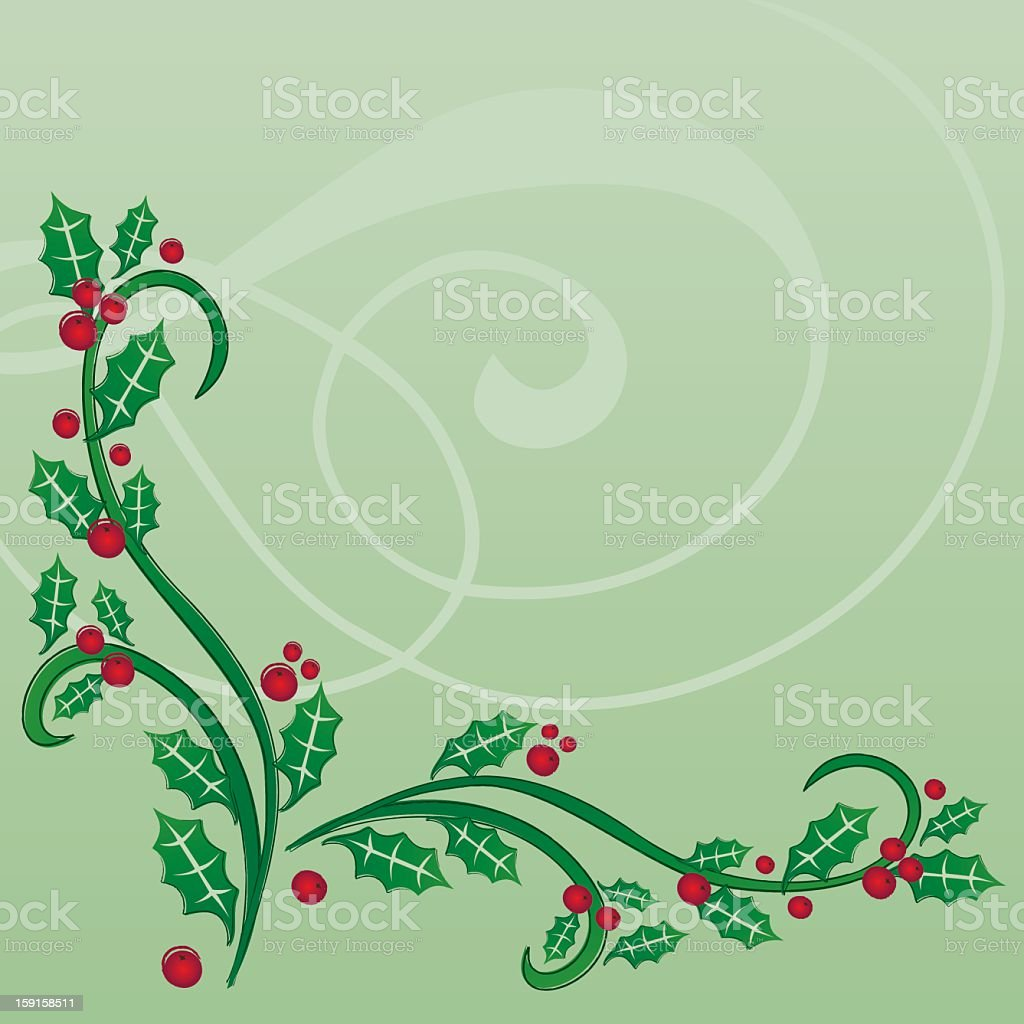 Festive Christmas Border royalty-free stock vector art