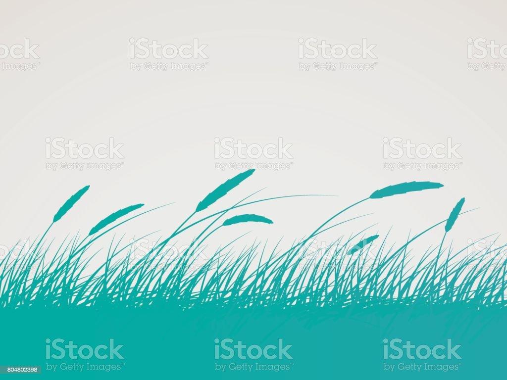 Field Background vector art illustration