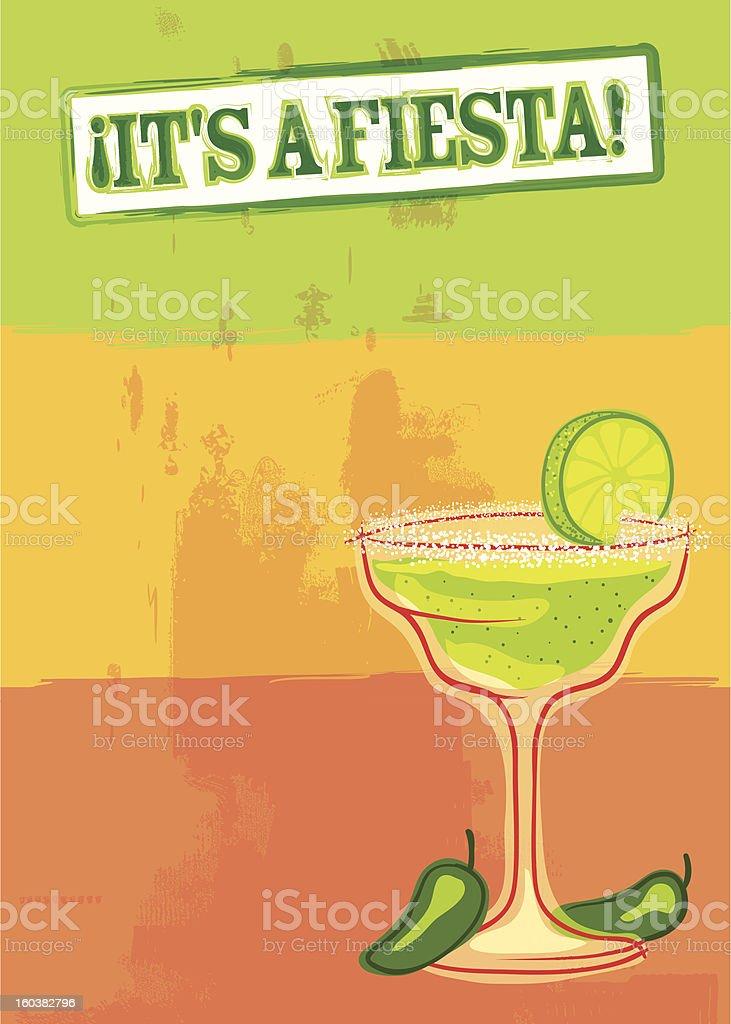 Fiesta time! vector art illustration