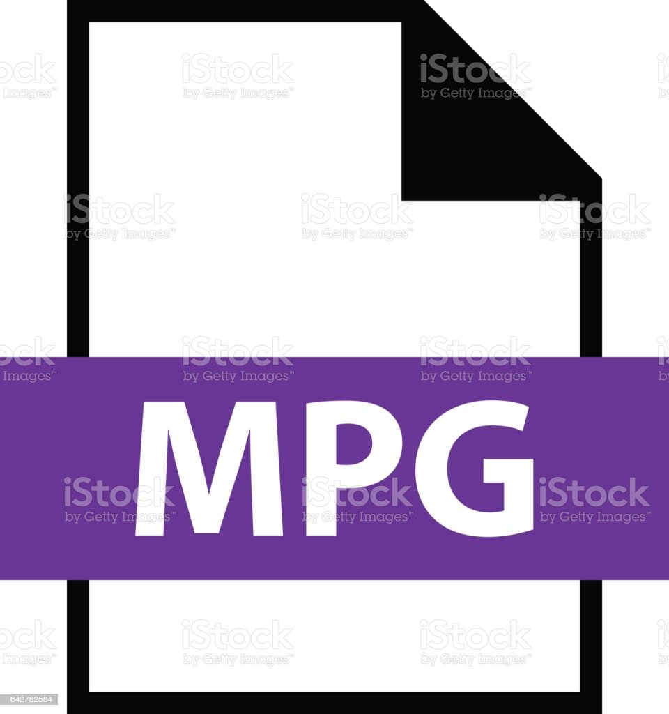 File Name Extension MPG Type vector art illustration