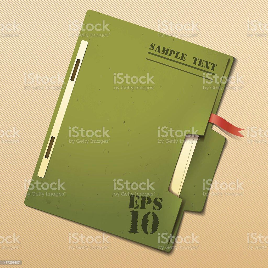 File vector art illustration