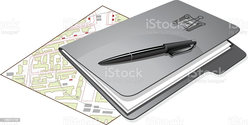 file,pencil and drawing royalty-free stock vector art