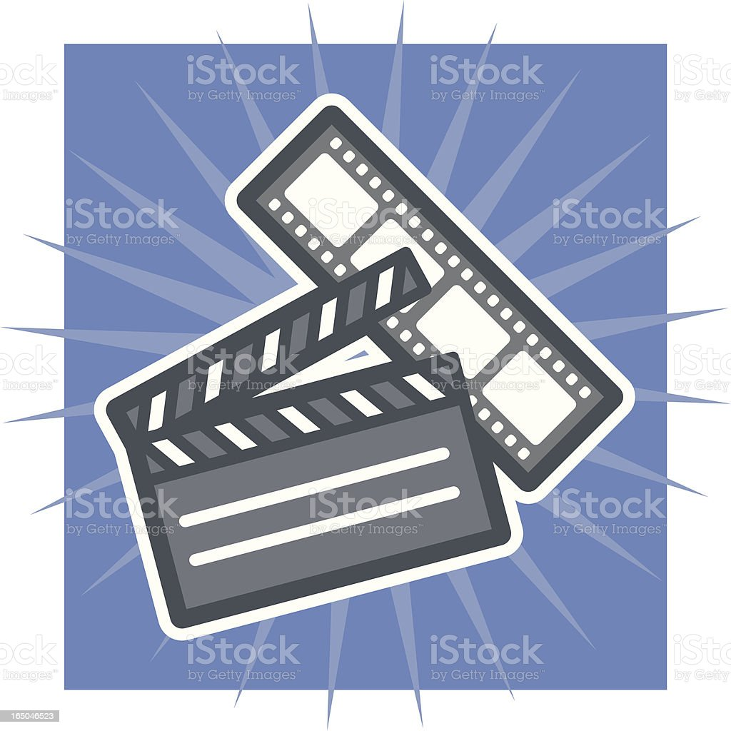 film royalty-free stock vector art