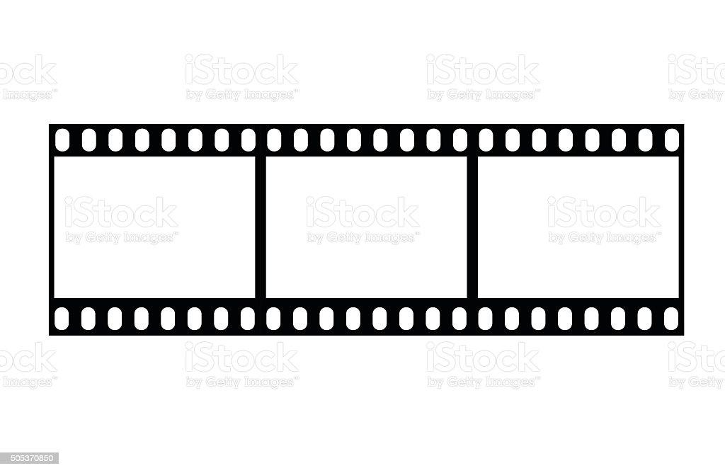 Filmstrip illustration vector illustration vector art illustration