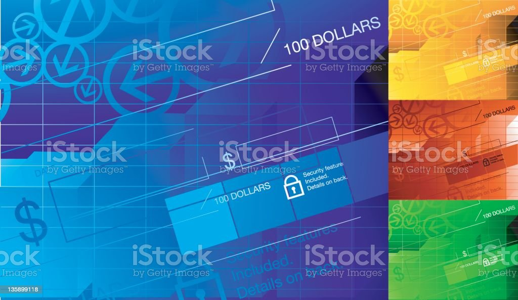 finance background royalty-free stock vector art