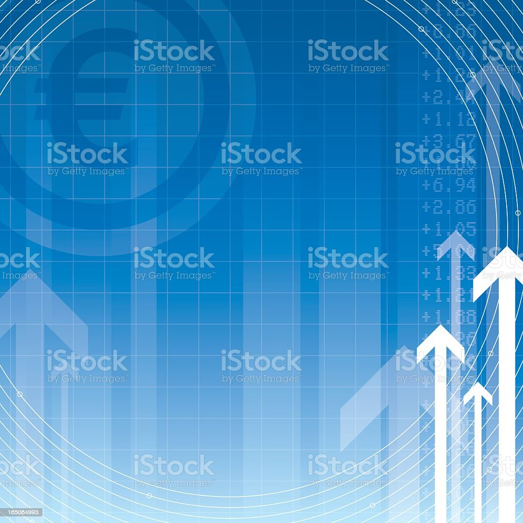 Finance Focus | Euro royalty-free stock vector art