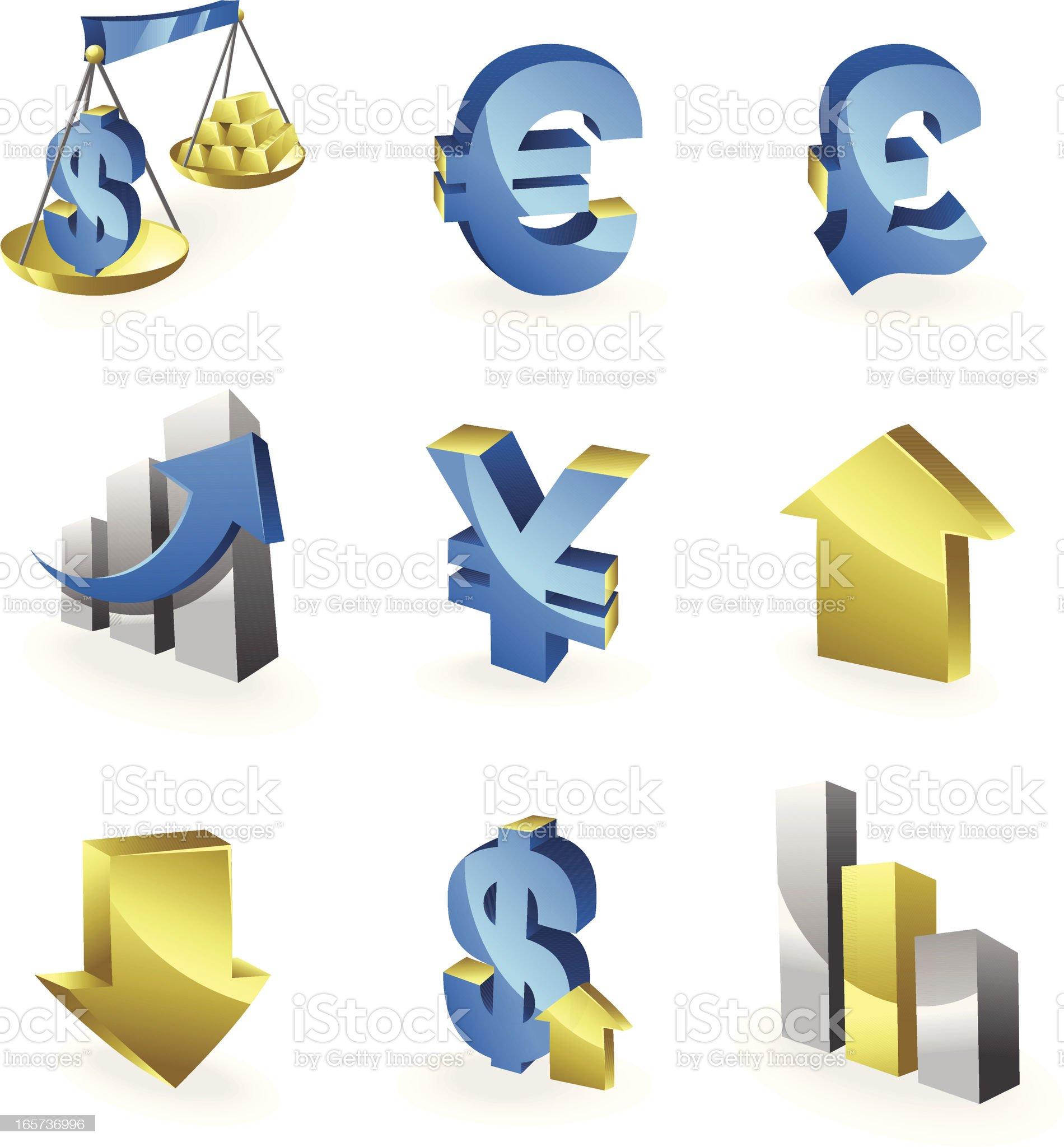 Finance Series royalty-free stock vector art