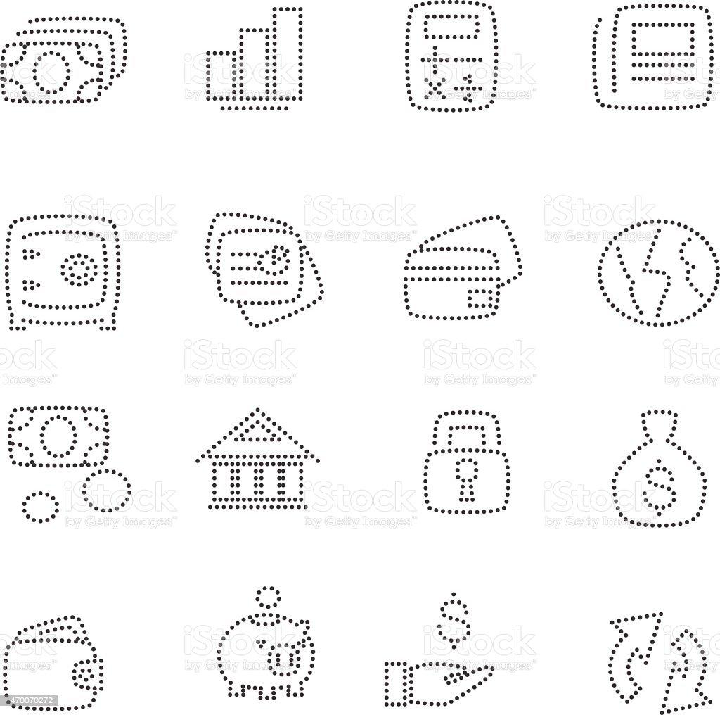 Finance vector art illustration