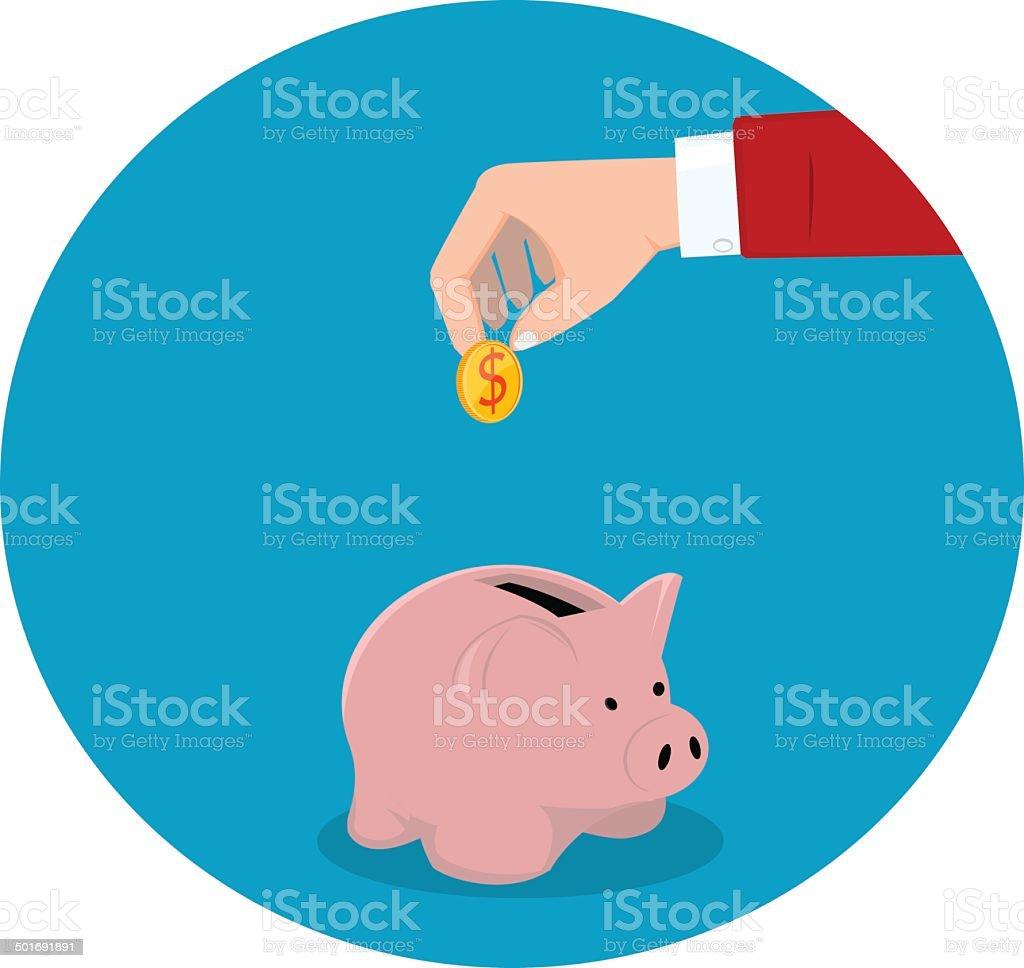 Financial icon royalty-free stock vector art