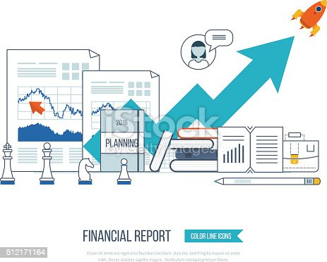 Financial Report Consulting Teamwork Project Management And