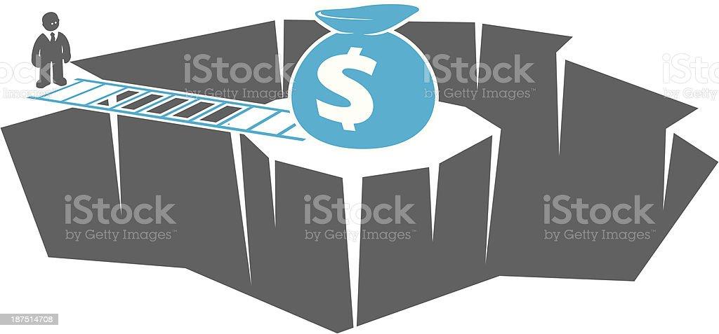 Financial Solution royalty-free stock vector art
