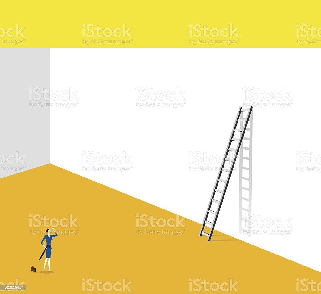 Find exit vector art illustration