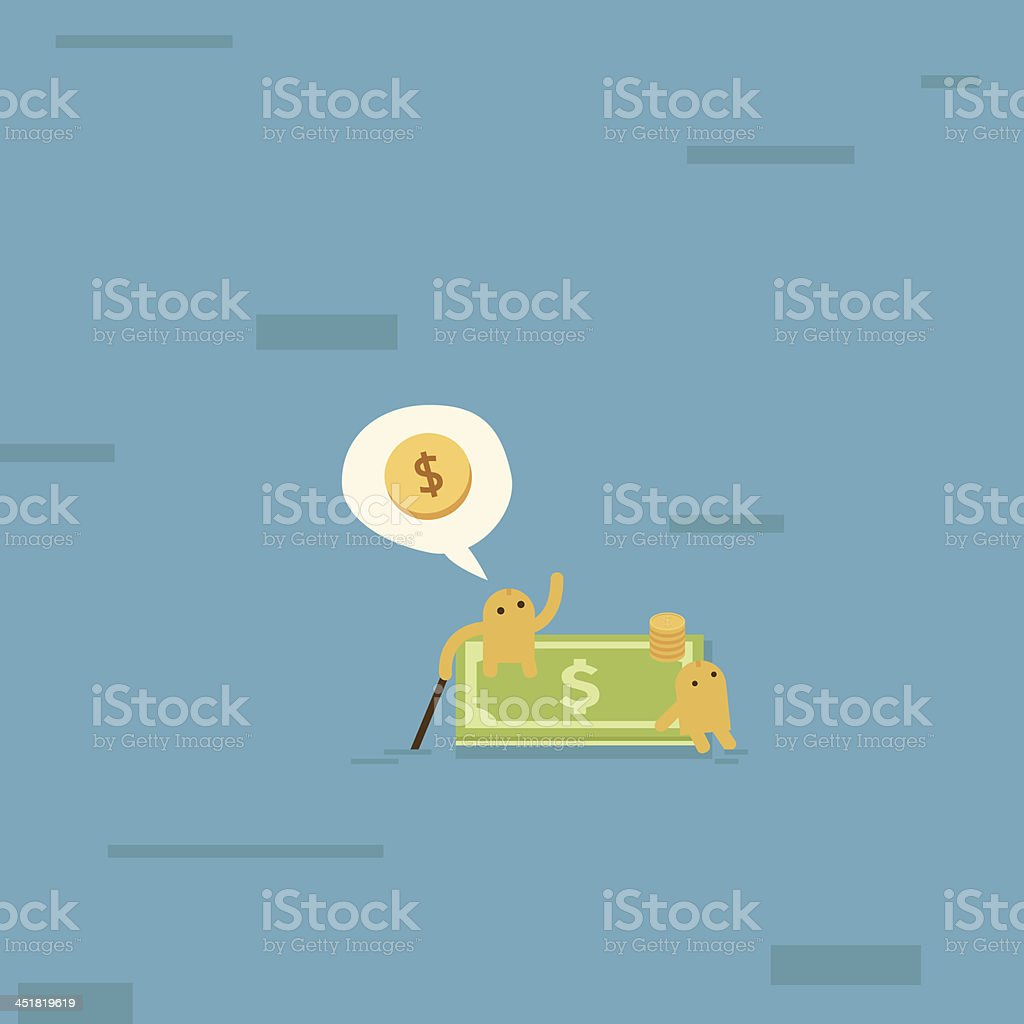 find new business customer marketing job or career stock vector find new business customer marketing job or career royalty stock vector