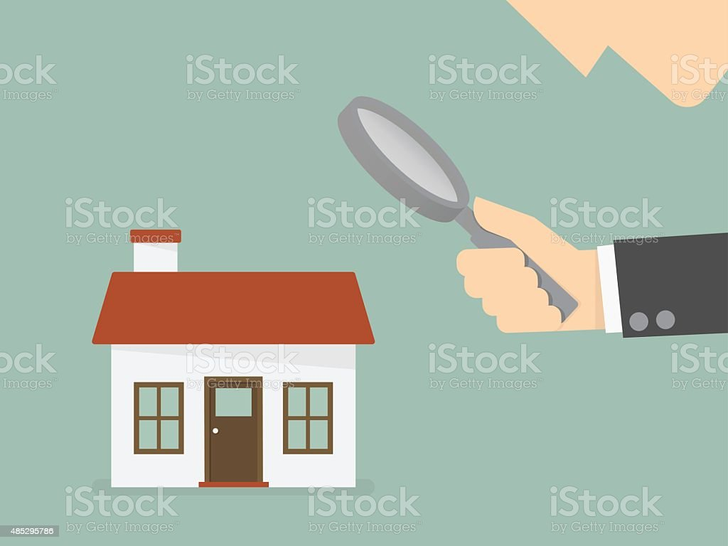 Findl estate vector art illustration