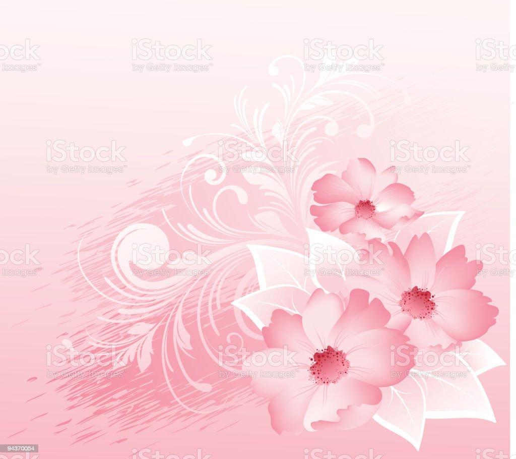 Fine flowers royalty-free stock vector art