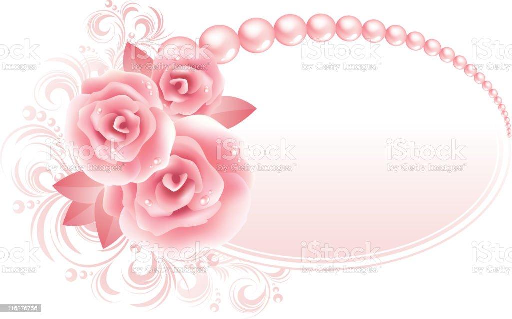 Fine roses royalty-free stock vector art