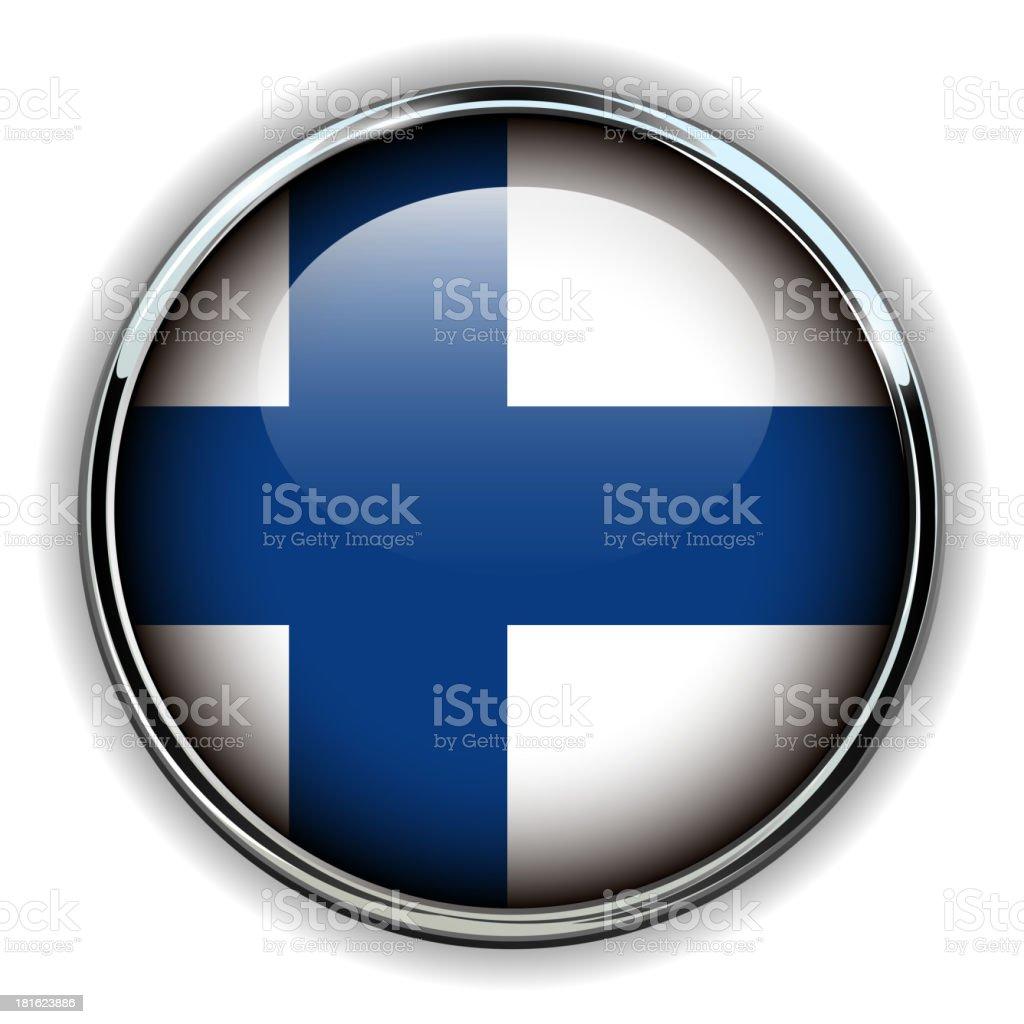 Finland button royalty-free stock vector art