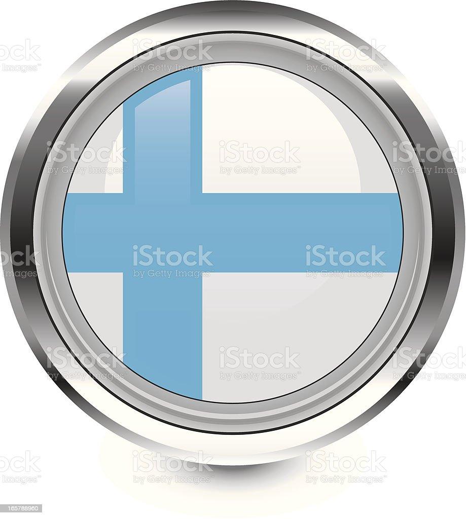 Finland flag icon royalty-free stock vector art
