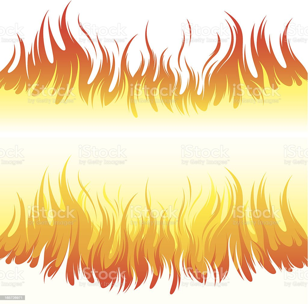 Fire backgrounds royalty-free stock vector art