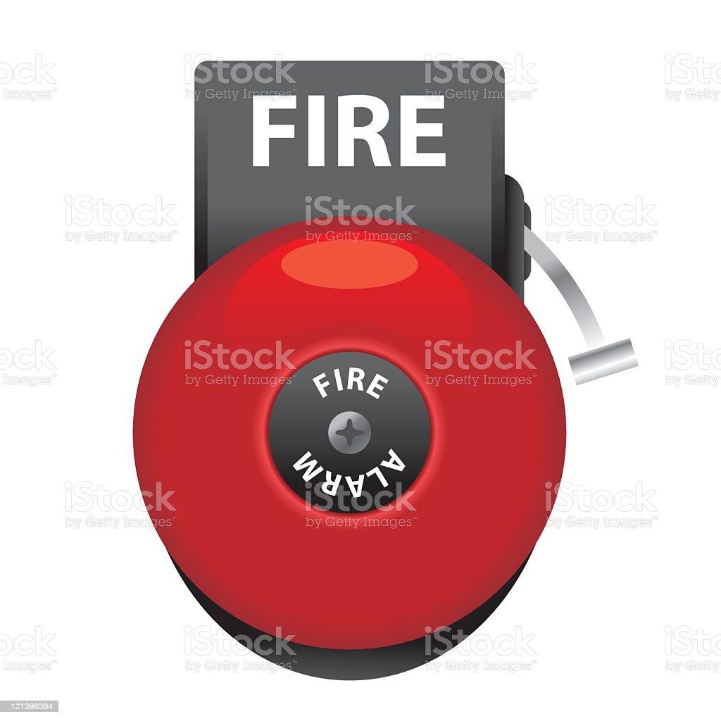 Fire Bell vector art illustration
