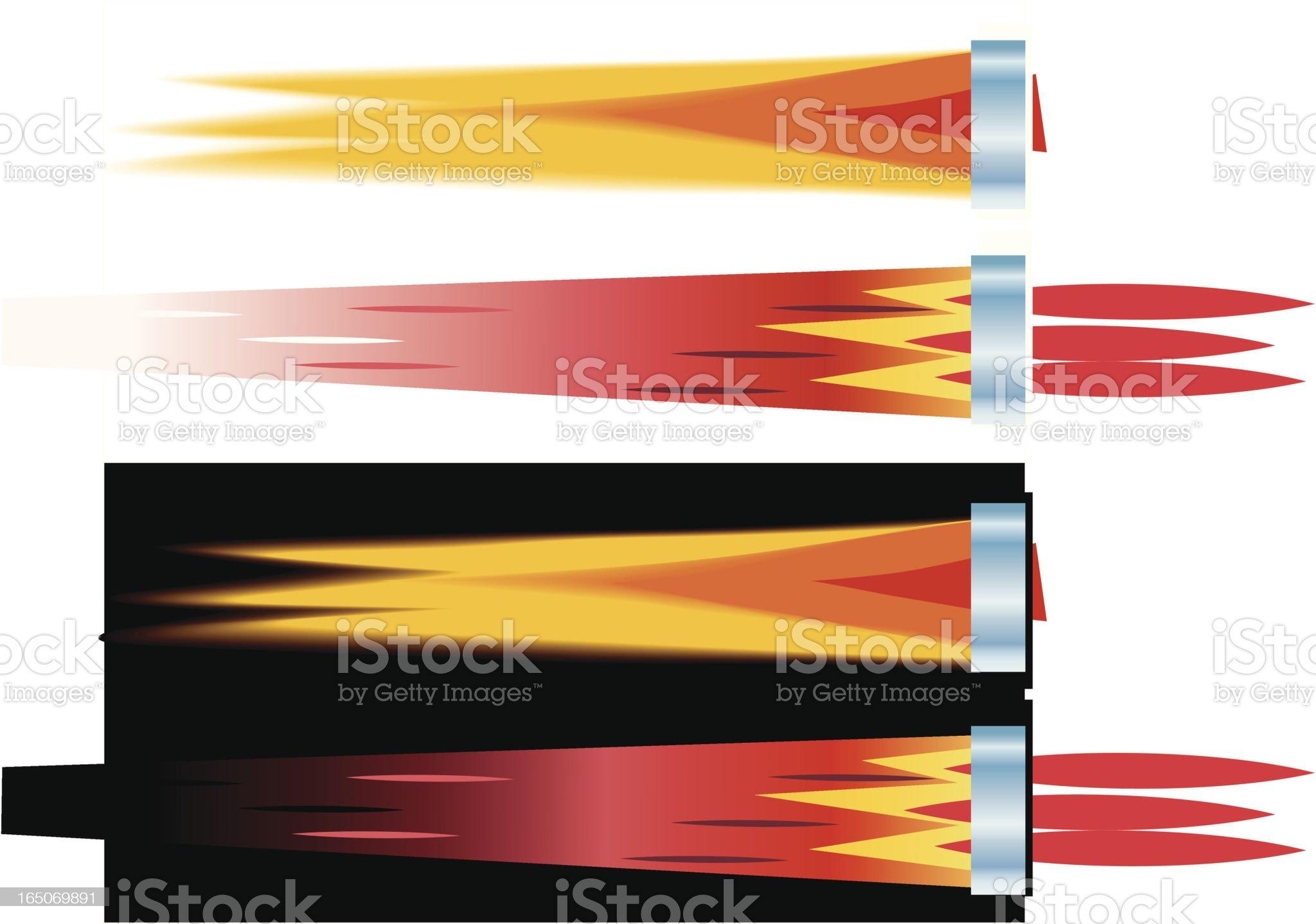 Fire Blast royalty-free stock vector art