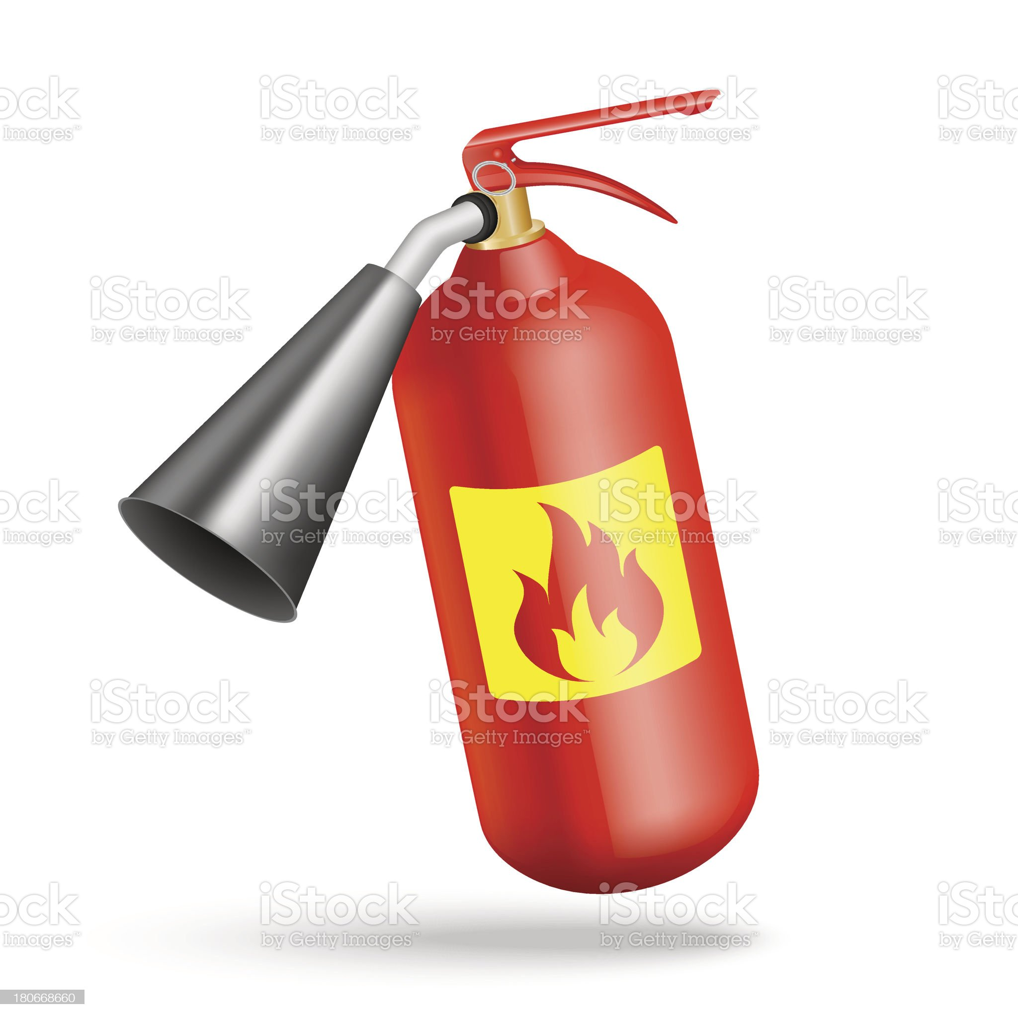 fire extinguisher royalty-free stock vector art