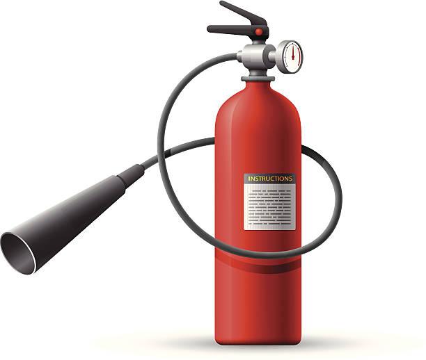Fire Extinguisher Clip Art, Vector Images & Illustrations ...