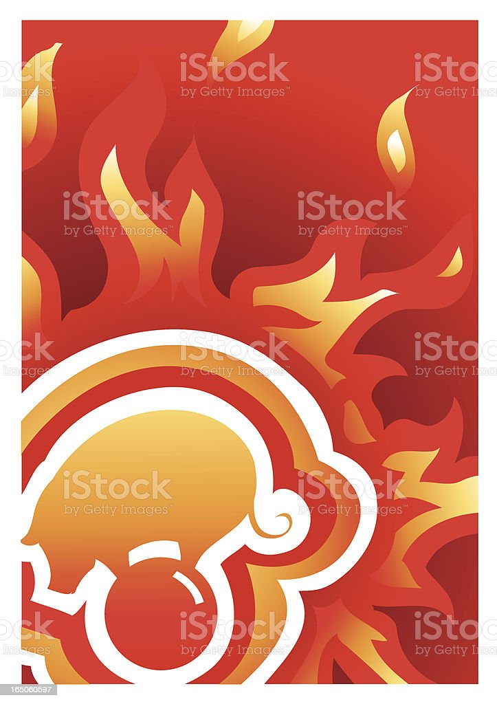 fire pig series 2 royalty-free stock vector art