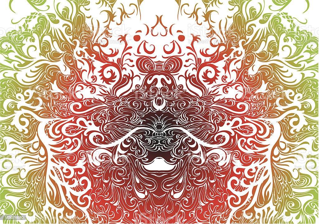 fire spirit Lizenzfreies vektor illustration